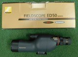 Nikon ED50 spotting scope