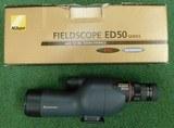 Nikon ED50 spotting scope