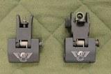 Wilson combat flip up sight set