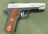 Ruger 1911 lightweight 45 acp