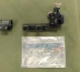 West German Peep sight set.
