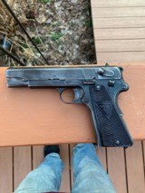 Polish Radom Vis 35 Early 3 Lever with Great Bore