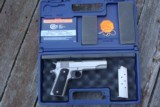 COLT GOV' 1911 SERIES 80 STAINLESS AS NEW IN BOX W/PAPERS BARGAIN!!!!!! - 4 of 7