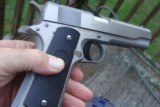 COLT GOV' 1911 SERIES 80 STAINLESS AS NEW IN BOX W/PAPERS BARGAIN!!!!!! - 2 of 7