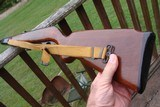 MOSSBERG 352 K 22SEMI 100% ORIGINAL W FACTORY SLING, SWIVELS, FOLDING FOREND NICE COLLECTOR - 3 of 9