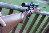 Remington Model Seven 7mm08 With Walnut Stock Beauty Hard To Find In This Cal