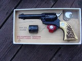 Colt Frontier Scout 22/22 Mag With Colt Faux Stag Grips AS NEW IN BOX COLT (62) 1967 WOW COLLECTOR!!!