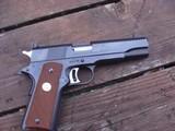 Colt 1911 National Match Mid Range 38 Very Rare Near New Cond.Employee Gun