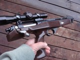 Remington XP 100 221 Fireball Orig Early (1968 ) model With LeupoldNear New Cond