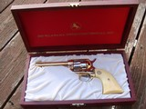 Colt Frontier Scout Gold and Silver In Colt Presentation Case 1969 Alabama Sesquicentennial AS NEW