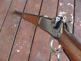 Winchester Nice Pre War Model 94 1942 Carbine With Excellent Somewhat Uncommon Redfield Peep In Factory Holes