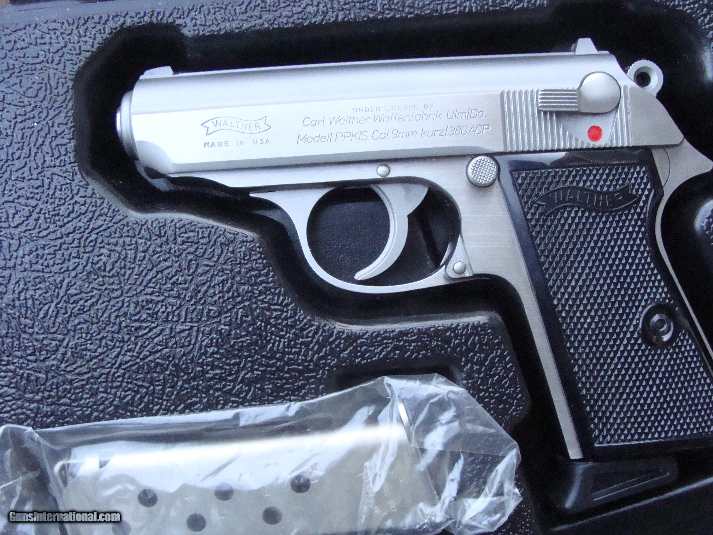Walther PPK/S As New In Box With All Papers Desirable