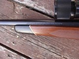 Winchester Model 70 Deluxe 1977 338 Win Mag Beauty Like XTR Black Forend Tip and Real Cut Checkering - 7 of 12