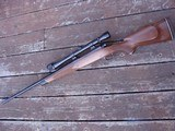Winchester Model 70 Deluxe 1977 338 Win Mag Beauty Like XTR Black Forend Tip and Real Cut Checkering - 5 of 12