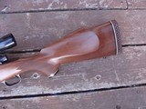 Winchester Model 70 Deluxe 1977 338 Win Mag Beauty Like XTR Black Forend Tip and Real Cut Checkering - 8 of 12
