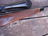 Winchester Model 70 Deluxe 1977 338 Win Mag Beauty Like XTR Black Forend Tip and Real Cut Checkering - 9 of 12