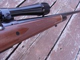 Winchester Model 70 Deluxe 1977 338 Win Mag Beauty Like XTR Black Forend Tip and Real Cut Checkering - 4 of 12