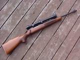 Remington Model 700 222 ADL Carbine 2d Yr Production 1963 With Weaver K8 Rare Find