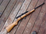 Marlin Model 25 NM 22 Mag Rifle With Scope AS NEW ! JM marked Micro Groove North Haven Ct Made