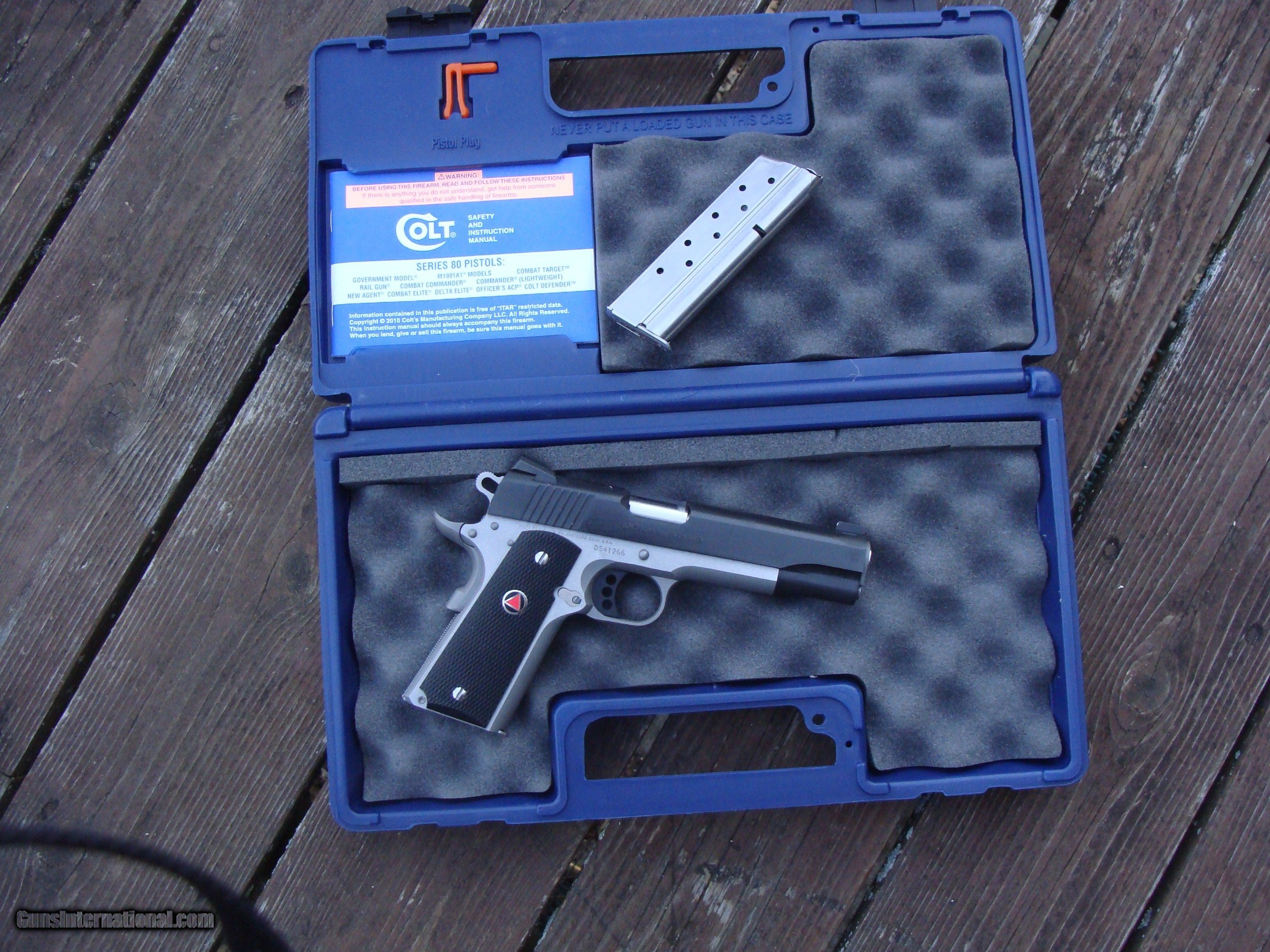 Colt Delta Elite 10 mm As New In Box W All Papers Not a Mark On