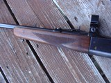 Savage 99 F (Featherweight) Beauty Approx 1960 Nice Transition Gun; Brass Counter, Tang Safety - 11 of 19