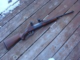 Savage 99 F (Featherweight) Beauty Approx 1960 Nice Transition Gun; Brass Counter, Tang Safety - 2 of 19
