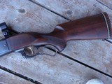 Savage 99 F (Featherweight) Beauty Approx 1960 Nice Transition Gun; Brass Counter, Tang Safety - 9 of 19