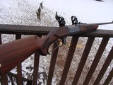 Savage 99 F (Featherweight) Beauty Approx 1960 Nice Transition Gun; Brass Counter, Tang Safety - 1 of 19