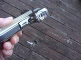 COLT 1911 BRIGHT STAINLESS 38 SUPER VINTAGE SERIES 80 IN AS NEW IN BOX RARE BEAUTY! - 7 of 9