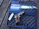 "COLT NIGHT DEFENDER LIGHTWEIGHT 3"" SUBCOMPACT 2 TONE AS NEW IN BOX WITH PAPERS, EXTRA MAG & LOCK"