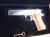 Colt 1911 Silver Star 1985 Bright Stainless 45 Rare Only 1000 made Bargain Price - 4 of 19