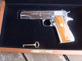 Colt 1911 Silver Star 1985 Bright Stainless 45 Rare Only 1000 made Bargain Price - 18 of 19