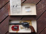 Ruger Single Six Vintage Flat Top 1957* 67 ?22/22 mag in Original Red and Black Correct Box with Papers Rare Find