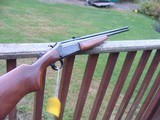 Savage model 24 Vintage Combination Gun; 22/410 Walnut Stocked with Nice Case Color BARGAIN - 1 of 10
