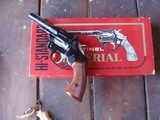 High Standard Sentinel Imperial 9 shot 22 Near New In Correct Box Beauty Rarely Found
