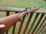 Remington Model Seven Vintage Walnut stock, schnable forend 7mm08 As New Beauty 1984