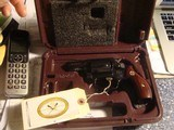 Smith & Wesson Lady Smith RARE BLUED MODEL IN PLUM COLORED FACTORY BOX AS NEW - 1 of 5