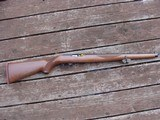Ruger 10/22 Männlicher, Checkered Walnut Stocks Looks Just like Originals From the 1960's NEW IN BOX !!!! - 2 of 12