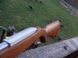 Ruger 10/22 Männlicher, Checkered Walnut Stocks Looks Just like Originals From the 1960's NEW IN BOX !!!! - 9 of 17