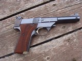 High Standard Supermatic Trophy Military Wow Hamden Ct Made Beauty - 2 of 8