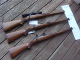 Ruger 77 RSI.308 Beauty With Factory Rings and Sights, Bargain. Early Model Blued Bolt