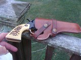 High Standard Double Nine 22 Western Style With Faux Stag Grips Nice Gun