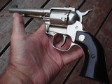 High Standard Double 9 Nickel 9 Shot Double Action Revolver UNFIRED !!!! - 1 of 12