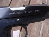 Colt Commanding Officers Model 1911MK!V 1987 Rarely Found Model Near New Safe Queen - 7 of 7
