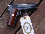 Colt Commanding Officers Model 1911MK!V 1987 Rarely Found Model Near New Safe Queen - 1 of 7