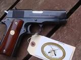 Colt Commanding Officers Model 1911MK!V 1987 Rarely Found Model Near New Safe Queen - 2 of 7
