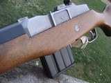 Ruger Mini 14 Stainless Near New Cond. Bargain - 9 of 12