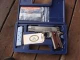 Colt 1911 Rail Gun RL As New In Box Bargain