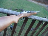 Ruger Mini 7.62 x 39 Factory New In Box Stainless With Wood Stock