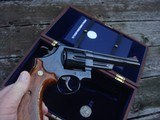 Smith & Wesson Model 25-3 125th Anniversary In Presentation Case With Hard Cover Book and Medallion 45 Long Colt